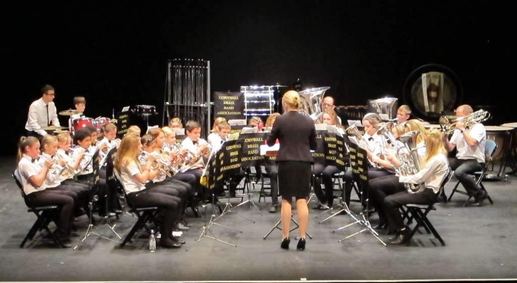 St Dennis Junior Band at CBBA Contest 2015